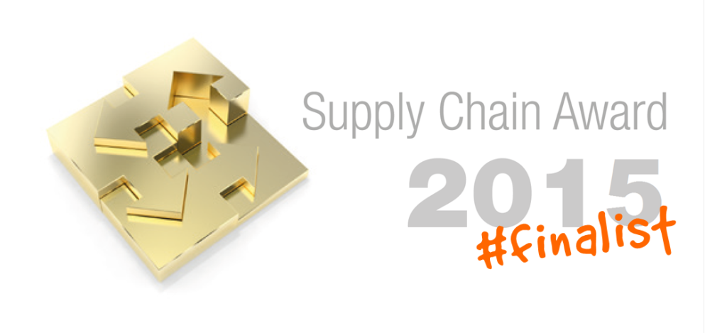 Supply Chain Award 2015 finalist